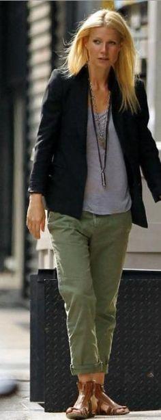 Gwyneth Paltrow / Chino kaki