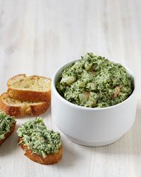 Creamy Spinach-and-Shrimp Dip Recipe on Food & Wine