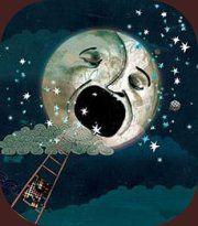 moon-faced