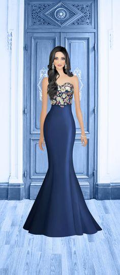 Fashion Dress Up Games, Party Fashion, Fashion Show, Fashion Dresses, Fashion Looks, Fashion Design, Covet Fashion, New Dress Pattern, Dress Patterns