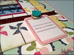 Layout de Beky Scrap con kit de inicio de www.scraptodream.com