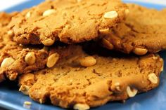 The peanut butter cookie recipe was adapted from the Buttery's giant-sized cookies.