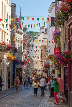 Floral High Street, St. Peter Port, Guernsey