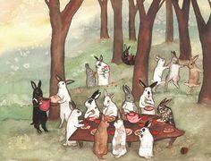 """Rabbit Reunion"" b y Nakisha VanderHoeven"