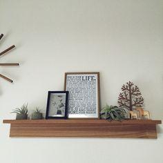 無印良品 壁に付けられる家具/北欧好き/チランジア/エアプランツ/100均…などのインテリア実例 - 2015-03-16 05:43:51 | RoomClip(ルームクリップ)