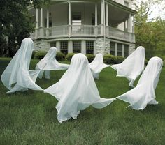 Dancing Lawn Ghosts Tute