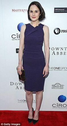 Michelle Dockery + dress