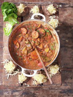 Smoky Veggie Chilli | Jamie Oliver | Family Super Food