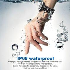 N105 IP68 Waterproof Smartwatch for iPhone Samsung Huawei - US$52.48 Sales Online gray - Tomtop Smartwatch, Apple Technology, Tech Accessories, Samsung, Gray, Future, Iphone, Smart Watch, Future Tense