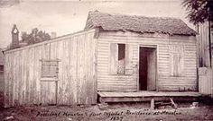 Official home of Sam Houston: President's residence, 1837