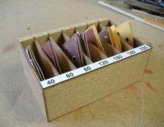 Miniprojekt: Delta Schleifpapierlade Deltaschleifer,Schleifpapier,Aufbewahrung