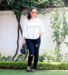 Off Shoulder blouse | OOTD #fashionblogger #off shoulder