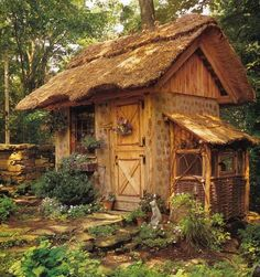 Cute cabin; make this a little bit biger and it would be perfict for me ! HOME .