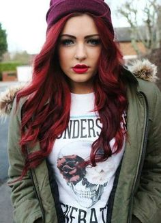 As the Fall Leaves Drop, Hair Colors Pop « UDress