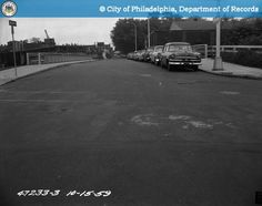 21st and Hamilton Streets looking  North - 1959