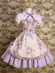 Another good SD idea.  Just make the top different.  Or not.  Mary Magdelene Classic Lolita Dress.