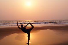 Yoga in Goa, Arambol Beach, by Karolina Sharma