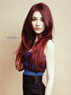 Red Black Hair Color Pictures Hd Deep Red Mahogany Hair Color Overview Dark   Fans Share
