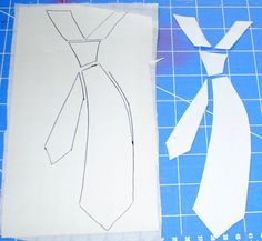 Shirt and tie pattern