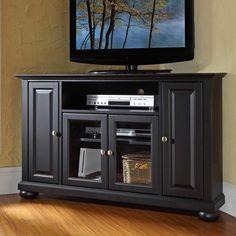 Alexandria Corner TV Stand