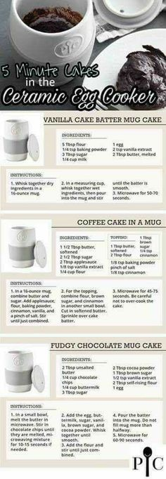 Pampered Chef Egg Cooker, Pampered Chef Desserts, Pampered Chef Party, Pampered Chef Products, Baker Recipes, Mug Recipes, Cooking Recipes, Yummy Recipes, Breakfast