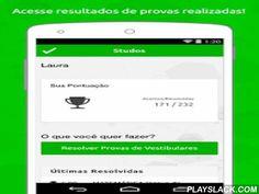 Studos - Vestibulares E ENEM  Android App - playslack.com ,  O Studos é um aplicativo que ajuda você a estudar!Com o Studos você pode resolver provas de vários vestibulares do Brasil e do ENEM. Realize as provas on-line e acesse estatísticas de acertos, tempo gasto em cada questão e gabarito correto ao final de cada prova.- Mais de 2 milhões de questões já foram resolvidas no Studos!- Mais de 4.000 provas de vestibulares de todo o Brasil.- Mais de 30.000 questões cadastradas.Divisão por…
