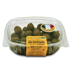 IT   RICETTA SICILIANA CON O.SCH.NOC.BEL: questa ricetta è fatta con olive schiacciate nocellara del belice al naturale, aglio e...  EN   SICILIANA RECIPE: CRACKED OLIVES, GARLIC, CELERY, SPICES ...: a traditional recipe prepared with natural cracked nocellara del belice olives, garlic, celery, oregano, spices, herbs and...  http://www.ficacci.com/scheda.asp?id=397&idgamma=42&categ=prodotti