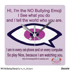 NO Bullying Emoji