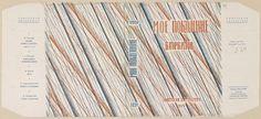 Soviet book design. Gorbatov, Boris Leont'evich. Moe pokolenie. [My Generation.] Moscow: Sovetskaia Literatura, 1934.