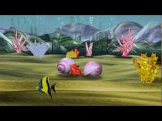 """Scott Brothers Duo perform """"Aquarium"""" by Camille Saint-Saëns (from Carnival of the Animals) with an animation by Tom Scott. Story: An animated hermit crab lo. Preschool Music, Music Activities, Teaching Music, Tom Scott, Carnival Of The Animals, Scott Brothers, Brain Break Videos, Music Composers, Reggae Music"""