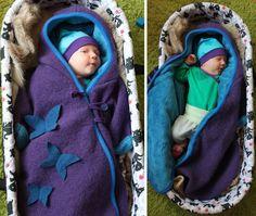 Yva R.: Kinderwagensack aus Walk