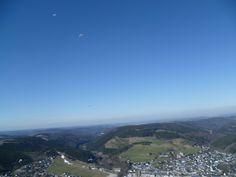 Gliding over the Ettelsberg Willingen/Germany