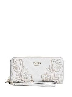 814623a16c Guess Arianna Zip-Around Wallet in Cement · Paisley EmbroideryMe BagZip ...