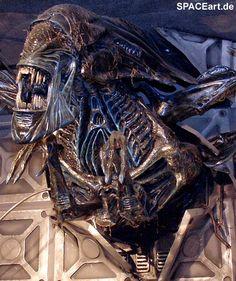 Alien 2: Giant Queen Wallbreak, Fertig-Modell ... http://spaceart.de/produkte/al116.php