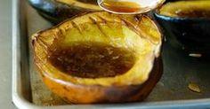 Accorn Squash  with coconut oil! no sugar no maple s!