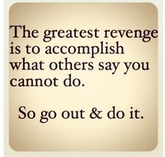 Been doing this for nearly 24 years now...not for revenge, but for love~