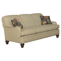 Sofa in Broster Tan with Pillows