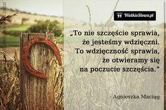 To nie szczęście sprawia... #Maciąg-Agnieszka, #Szczęście, #Wdzięczność