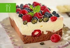 8 pysznych ciast bez pieczenia Sweet Treats, Cheesecake, Pudding, Sweets, Cookies, Recipes, Food, Life, Dots