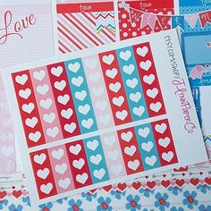 16 heart checklists. JLynnPaperCo.etsy.com #stickers #plannerstickers #planner #erincondren #erincondrenlifeplanner #eclp #jlynnpaperco #etsy #planneraddict #plannerlove #plannerjunkie #valentines #valentinesday #sale #grandopening #grandopeningsale #etsysale