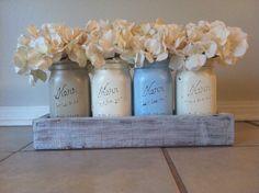 long table wedding wood box centerpiece - Google Search