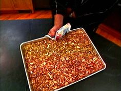 Granola from Alton Brown.  We love this recipe!