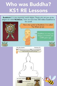 Learn all about Buddha and Buddhism in these Religious Education lessons for Year 1 or Year Your class will be introduced to some of the key principles of Buddhism, the meaning of Buddhist symbols and Vesak as they work their way through these six RE le Buddhist Shrine, Buddhist Symbols, Educational Activities, Learning Activities, Kids Learning, Religious Studies, Religious Education, Principles Of Buddhism, Religion