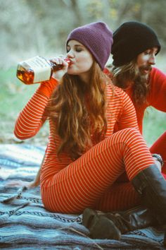 Ok the only thing I like about this is the long johns for an outdoorsy engagement photo shoot. soooo cuttteee! --Lis