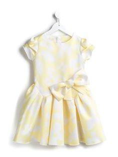 flared floral dress