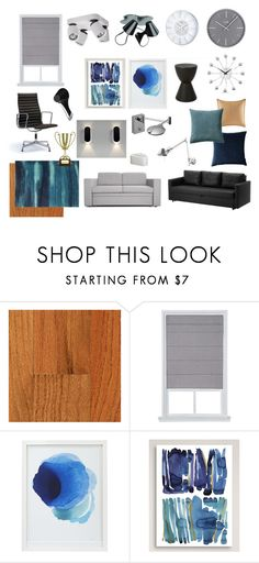 """025"" by tanya-nickolaeva on Polyvore featuring interior, interiors, interior design, дом, home decor, interior decorating, Crate and Barrel и Kate Roebuck"