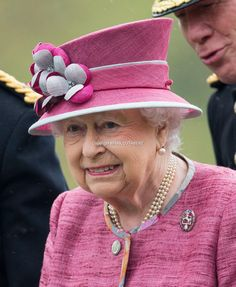 Queen Elizabeth II reviews The King's Troop Royal Horse Artillery on the 70th anniversary at Hyde Park on October 19, 2017 in London, England. The KTRHA was formed by King George VI in October 1947 and are commonly known as the 'Gunners'.