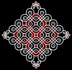 rangoli designs with dots 15 8 Indian Rangoli Designs, Rangoli Designs With Dots, Rangoli Designs Images, Rangoli With Dots, Beautiful Rangoli Designs, Simple Rangoli, Cool Tattoos For Guys, Trendy Tattoos, New Tattoos