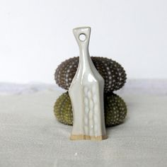Rustic pendant White necklace pendant by TreasureCraftsBox on Etsy