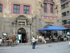The Ratskeller restaurant in Wuerzburg, Germany  (Joe Cruz photo).